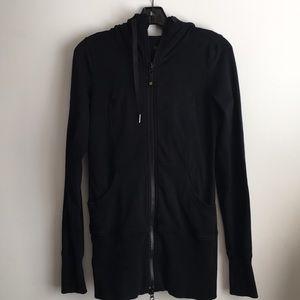 lululemon athletica Jackets & Coats - Lululemon Wear with All Zip Sweatshirt 6 or 8 blk